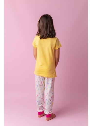Zeyland Sarı Be Free Pijama Takımı (5-12yaş) Sarı Be Free Pijama Takımı (5-12yaş) Sarı